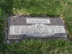 Lois Florence <I>Eddy</I> Cording