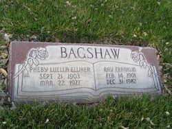 Ray Franklin Bagshaw