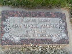 Ada Mabel <I>Smith</I> Ambrus
