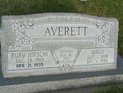 Ruby <I>Hirschi</I> Averett