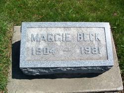 Maggie I Beck