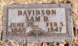 Sam D. Davidson