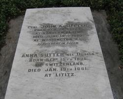 Anna <I>Dubeld</I> Sutter