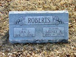 Sidney R Roberts