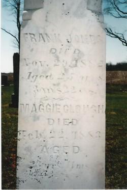 Maggie E <I>Jones</I> Clough