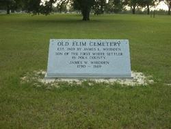 Old Elim Church Cemetery