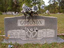 Pauline Edna <I>Williamson</I> Goodson
