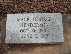 Mack Donald Henderson
