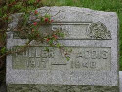 Fuller W. Addis