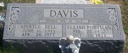 """Elijah Portman """"Port"""" Davis"""