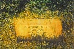 Josephine <I>Nunn</I> Merchant