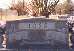 Mary Irene <I>Kominek</I> Boss