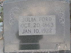 Julia <I>Ford</I> Canfield