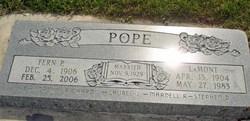 Fern <I>Pope</I> Pope