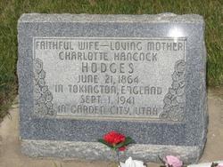 Charlotte <I>Hancock</I> Hodges