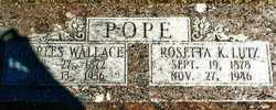 Charles Wallace Pope