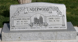 Elthora <I>Moulton</I> Underwood