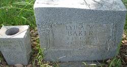 Lydia W Baker