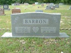 Marguerite Elizabeth <I>Kelly</I> Barron