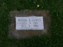 Wanda B. <I>Lewis</I> Curtis