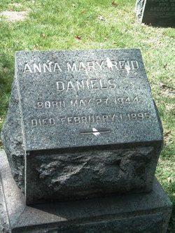 Anna Mary <I>Reid</I> Daniels