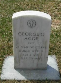 Pvt George Garrison Agge