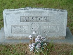 "Walter Bill ""Bill"" Alston"