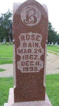 Rose <I>Keilholtz</I> Bain