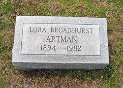 Lora <I>Broadhurst</I> Artman
