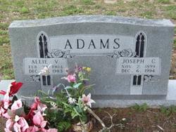 Allie Violet <I>Smith</I> Adams