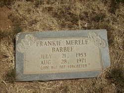 Frankie Merele Barbee