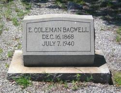 E Coleman Bagwell