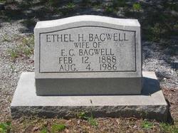 Ethel <I>Hair</I> Bagwell