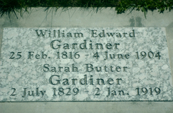 Sarah <I>Butter</I> Gardiner