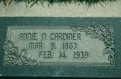 Annie <I>Nichols</I> Gardiner