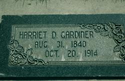Harriet <I>Dyer</I> Gardiner