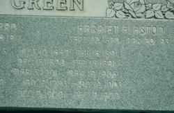 Harriet Ann <I>Aston</I> Green