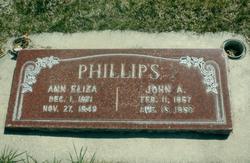 Ann Eliza <I>Jacob</I> Phillips