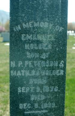 Emanuel Holder Peterson