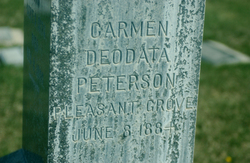 Carmen Deodata Peterson