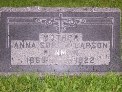 Anna Sophia <I>Larson</I> Penman