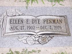 Ellen E <I>Dye</I> Penman