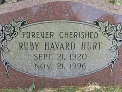 Ruby Mabel <I>Havard</I> Hurt