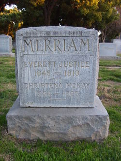 Christena <I>McKay</I> Merriam