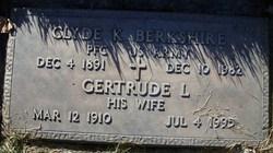 Clyde K Berkshire