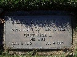 Gertrude L Berkshire