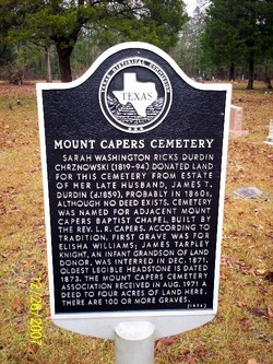 Mount Capers Cemetery