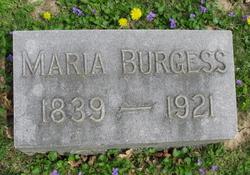 Maria Burgess