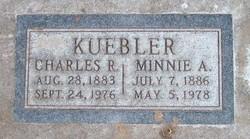 Minnie Alice <I>Langer</I> Kuebler