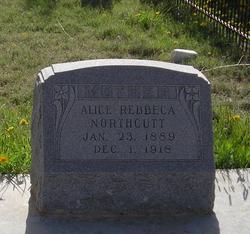 Alice Rebecca <I>Browne</I> Northcutt